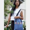 Empower Mishing Tote Bag (Blue)